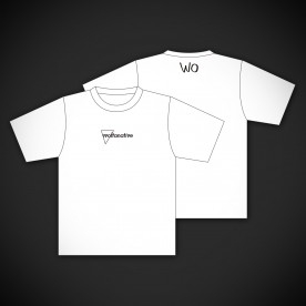 【white ver.】ヲルタナティヴ Tシャツ「woltanative」